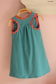 Prudent Baby racerback dress as made by sevenpretty