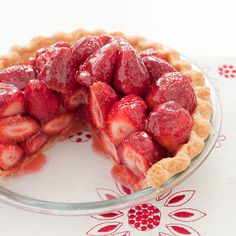 The key to Fresh Strawberry Pie's bright flavor—plump, uncooked berries—can also be its soupy downfall. But how do you firm up the filling without making it gluey and dull-tasting?