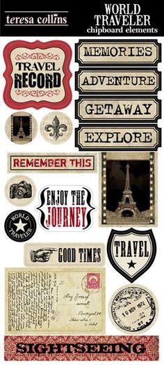 World Traveler   Teresa Collins DesignsTeresa Collins Designs