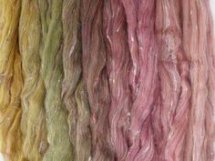 Forest Floor Gradient Pack of blended wool tops. This gradient has been created to make a seamless transition from one colour to the next. Cosy Corner, Seamless Transition, Different Light, One Color, Clouds, Top, Beautiful, Crop Shirt, Shirts