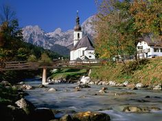 Ramsau is famous for its high mountains, including the third highest mountain in Germany, the fabled Mount Watzmann (2713 m), and for the lake Hintersee. Description from davidicke.com. I searched for this on bing.com/images