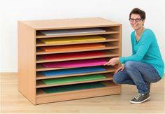Kartontároló szekrény
