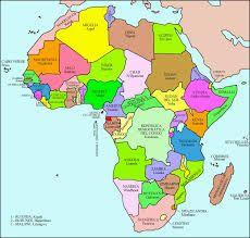 Mapa Politico De Africa En 2020 Africa Mapa Mapa Politico De