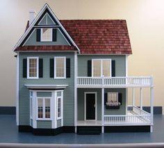 Victoria S Farmhouse Floor Plan Idea Dollhouse