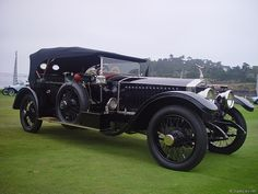 1914 Rolls-Royce Silver Ghost Barker London to Edinburgh Tourer