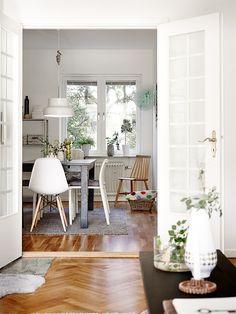 Du vert du blanc du gris et de la lumière en Suède