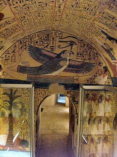 Tomb of Pashedu, Workers' Village, Luxor, Egypt                                                                                                                                                                                 More