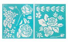 Martha Stewart Crafts ® Rose Garden Laser-Cut Stencils | Plaid Enterprises