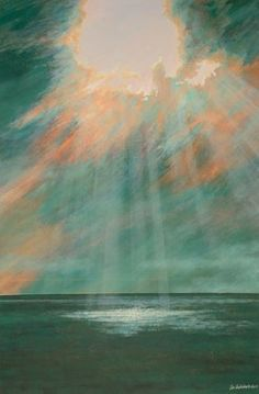 Sky above Antibes // Saatchi Art Prints Online, Land Art, Art World, Painting Inspiration, Watercolor Art, Buy Art, Alison Johnson, Art Projects, Art Drawings