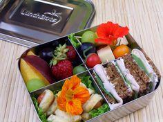 Lecker Bentos und mehr: Bento Nr. 347 Fingefood in der LunchBots Quad