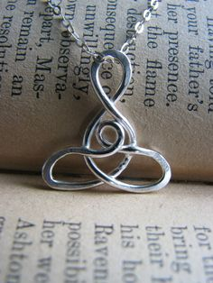 Celtic Infinity Mother and Child Necklace - Sterling Silver - Gift Maternity Adoption Mother Mom Grandmother Sister Wife Best Friend