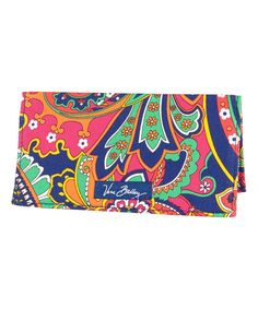 Take a look at the Venetian Paisley Checkbook Cover on #zulily today!