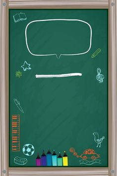 Blackboard Frame Design Decoration background The post Blackboard Frame Design Decoration background appeared first on Decoration. Powerpoint Design Templates, Powerpoint Background Design, Poster Background Design, Creative Poster Design, Creative Posters, Graphic Design Posters, Kids Background, Flower Background Wallpaper, Cadre Design