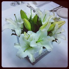 Our in-house florist at InterContinental Geneva decorates the hotel with beautiful fresh flowers every day.    InterContinental Geneva   #geneva - #switzerland - #hotel