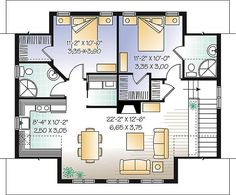 The Saddlery Plan 1154   2 Bedrooms And 2 Baths   The House Designers