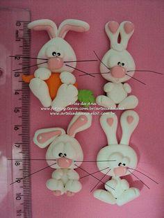 Conejos en biscuit.biscuit da Ana