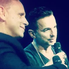 Dave and Martin of Depeche Mode