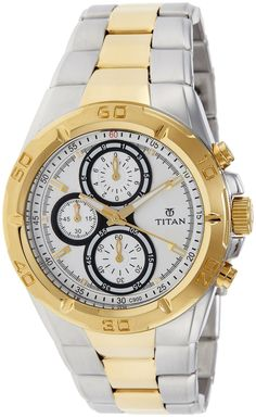 Titan Regalia Chronograph Analog Silver Dial Men's Watch - NE9308BM01J #Titan #Regalia #Chronograph #Analog #Silver #Dial #Men's #Watch #NE9308BM01J Price:INR 8,495.00 --------------------------------------- Sale:INR 5,999.00  --------------------------------------- You Save: INR 2,496.00 (29%) FREE Delivery