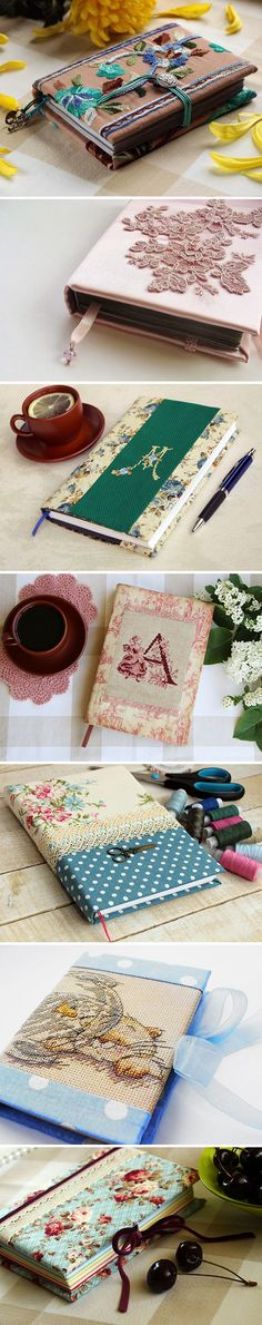 Amazing handmade notebooks