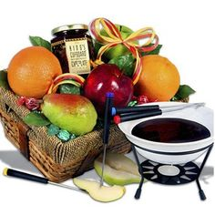 Fondue Favorites Gift Basket