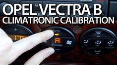 How to calibrate air condition in #Opel #Vectra B #Climatronic HVAC flaps #calibration #cars