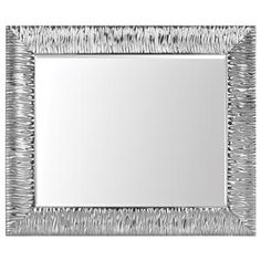 Mirror - paint my existing mirror silver to look like this for front entrance!
