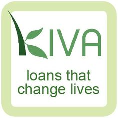 Kiva is empowering people around the world with $25 loans.  Learn about the worldwide network of microfinance loans and the differences they are making in individuals' lives.  Such a cool charity.  Check it out!