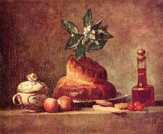La Brioche existe depuis longtemps et a été peinte par Jean-Baptiste Siméon Chardin.