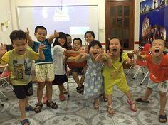 Đi học siêu vui cùng với lớp KID 1.13 iGIS Trần Đại Nghĩa