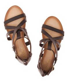 This Tantra Black Leather Gladiator Sandal by Tantra is perfect! #zulilyfinds
