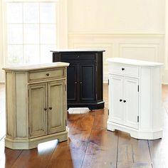 Piccola Cabinet from Ballard Designs for $299.   Visit at www.ballarddesigns.com