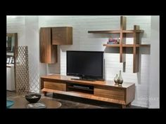 50 SIMPLE TV UNIT DESIGNS FOR LIVING ROOM - YouTube