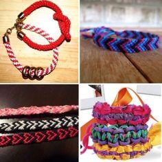DIY friendship bracelets. by vicky