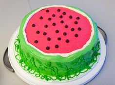 Is watermeloncake poplar in your country?  It is not so, in my country.  At least, I haven't saw yet.