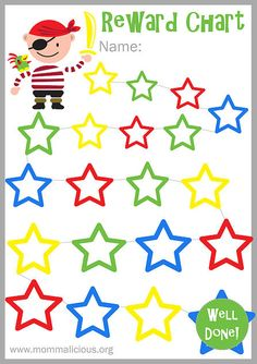 Reward Chart Template Princess   Parenting    Reward