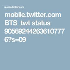 mobile.twitter.com BTS_twt status 905692442636107776?s=09
