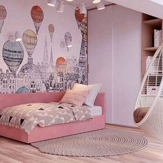 Trendy small kids room ideas for girls bedrooms quartos Baby Bedroom Furniture, Teen Bedroom, Baby Room Decor, Bedroom Decor, Bedroom Ideas, Design Bedroom, Kids Room Design, Baby Design, Luxurious Bedrooms
