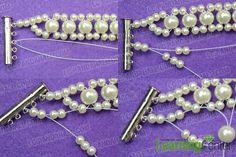 wedding pearl bracelet