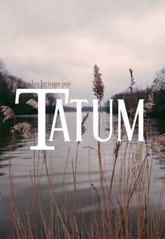 Tatum meaning one who brings joy Romanian names T baby names boy names baby boy names unique names ttc pregnant expecting uncommon baby nam