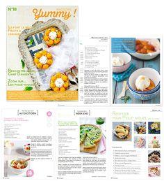 Lectures gourmandes pour l'été et/ou les vacances - Le Yummy Blog par Yummy Magazine