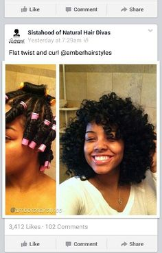 Gorgeous twist out and perm rods set!