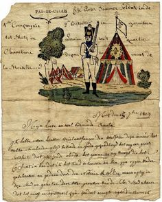 Letter from a soldier, 1819