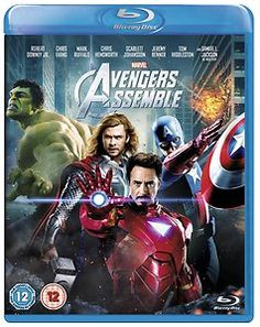 Marvel's Avengers Assemble [Blu-ray] [Region Free] Blu-ray Dvd *New* - ONLY 22.99!!