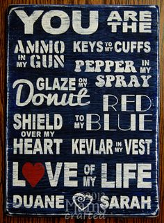 Shield Over My Heart by MamsCrafted, $60.00