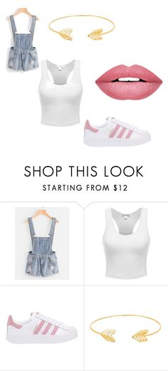 """just a normal day"" by my4dazz on Polyvore featuring adidas Originals, Lord & Taylor and Forever 21"