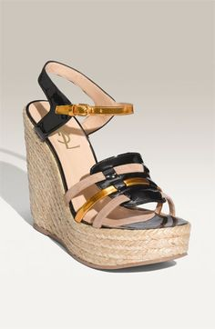 probably the most perfect wedge ever. YSL aka not in my budget :(