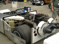 "Chaparral 2J ""Sucker"" Jim Hall. Remember them well."