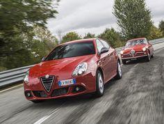 Antes y después del mítico Alfa Romeo Giulietta Sprint