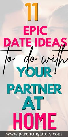 These stay at home date ideas will give you and your partner a great date night in! This list of great ideas for couples will help you plan fun and easy date nights. Dates on a Budget | Date ideas after the kids go to bed | Romantic date ideas at home for him | at home date ideas for couples #datenight #cheapdateideas #marriage #stayathomedates #budgetfriendly