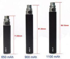 ecigaret batterier